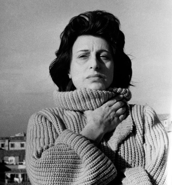 Portrait of Italian actress Anna Magnani. 1960s