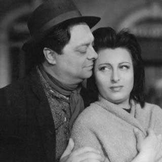Anna Magnani e Aldo Fabrizi - Archivio Anna Magnani
