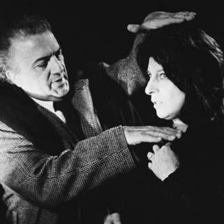 Anna Magnani e Federico Fellini - Archivio Anna Magnani