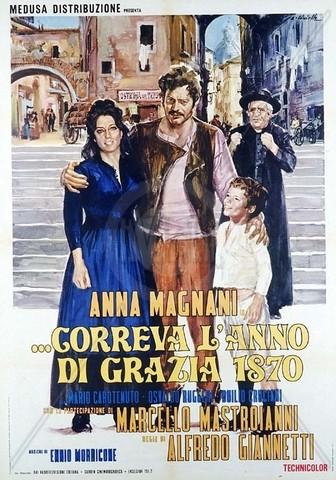 Anno di grazia 1870 Anna Magnani Marcello Mastroianni