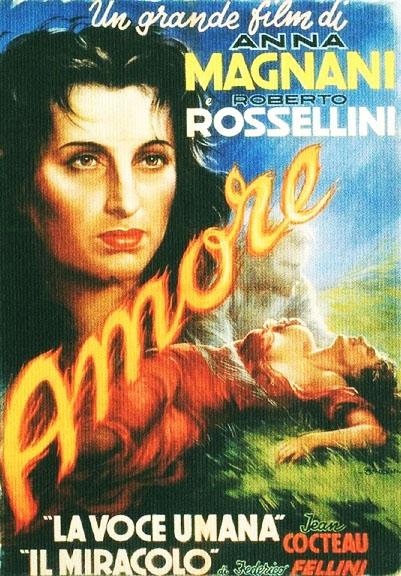 ANNA MAGNANI - L'AMORE di R. Rossellini - Archivio Anna Magnani