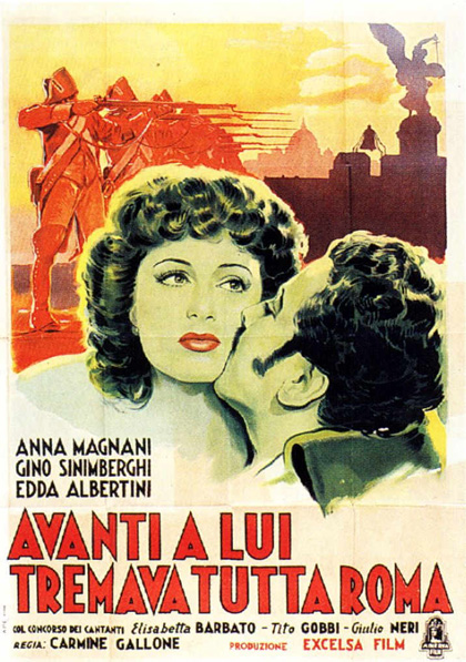 Avanti a lui tremava tutta Roma - Anna Magnani