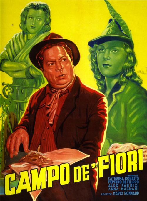 Campo de' Fiori De Filippo Anna Magnani Aldo Fabrizi