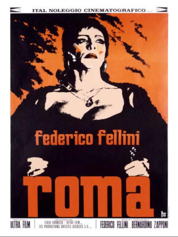 Roma - Anna Magnani Federico Fellini