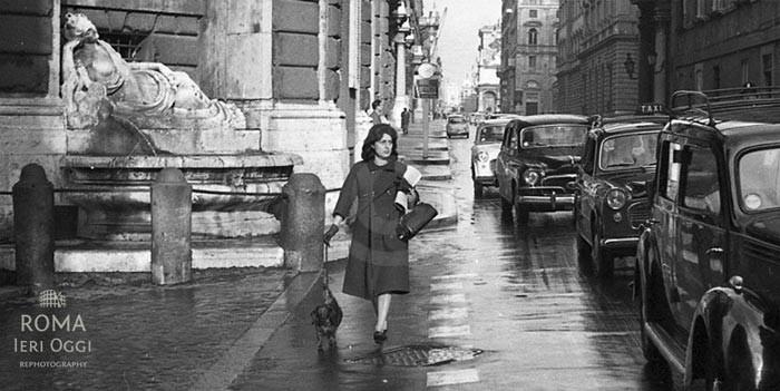 Anna Magnani - Roma - Quattro Fontane