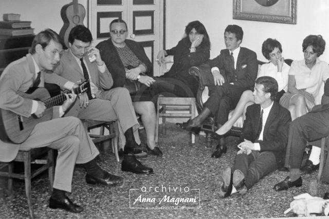 Anna Magnani e Fabrizio De Andrè
