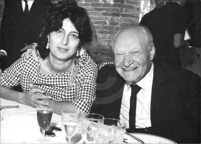 Anna Magnani e Giuseppe Ungheretti - 1962, Venezia
