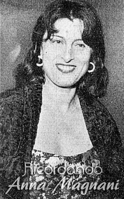 Chi è il grande amore di Anna Magnani?