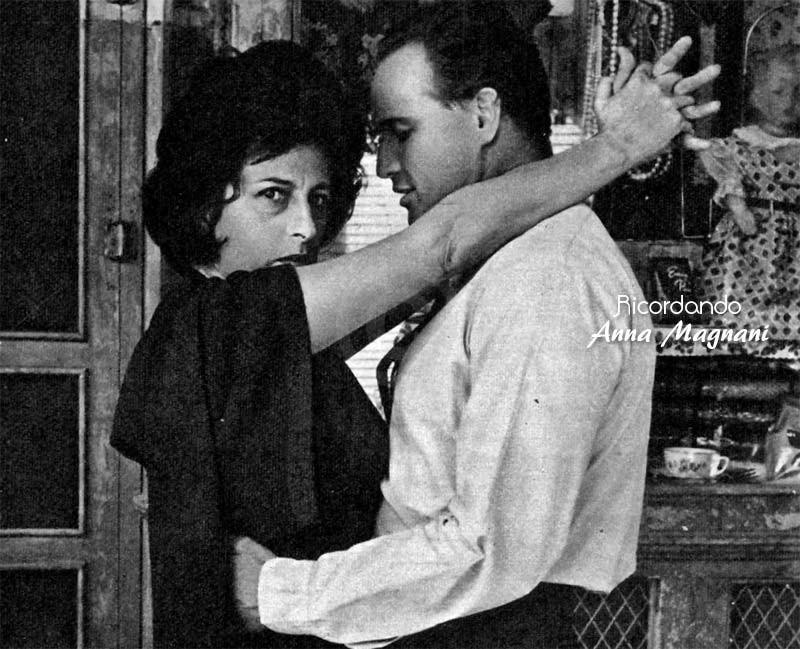 Anna Magnani Marlon Brando Tennessee Williams