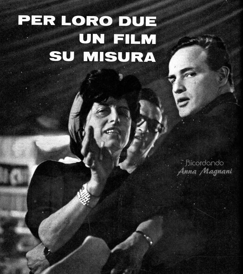 Marlon Brando Anna Magnani The Fugitive Kind