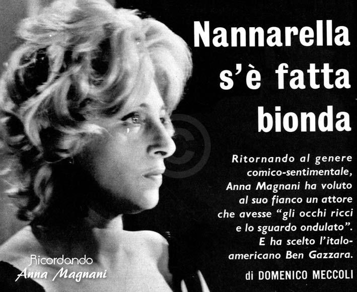 Nannarella s'è fatta bionda - Monicelli Gazzara Magnani
