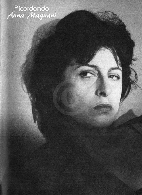 Anna Magnani by Angelo Frontoni