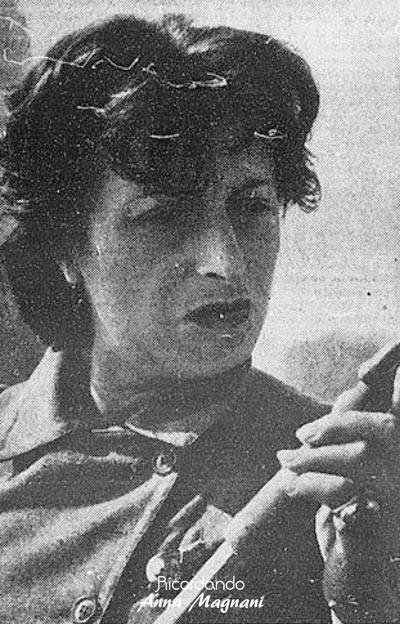 Anna Magnani, Enzo Biagi