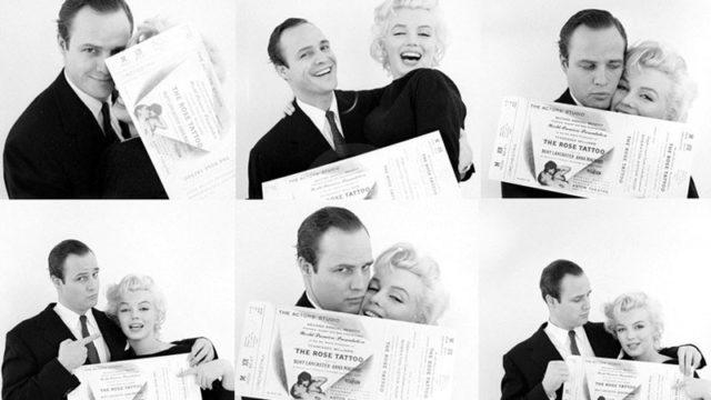 Marlon Brando e Marilyn Monroe Rose Tattoo