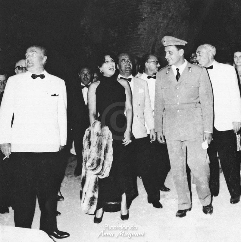 Anna Magnani al Teatro Antico di Taormina 1958
