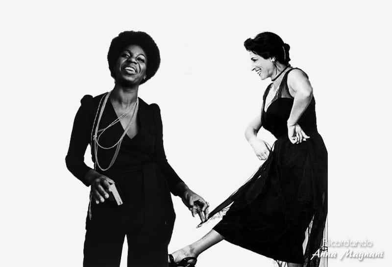 Nina Simone - Roma Sistina Anna Magnani