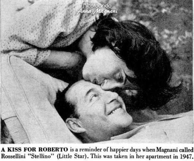 Anna Magnani LIFE Roberto Rossellini