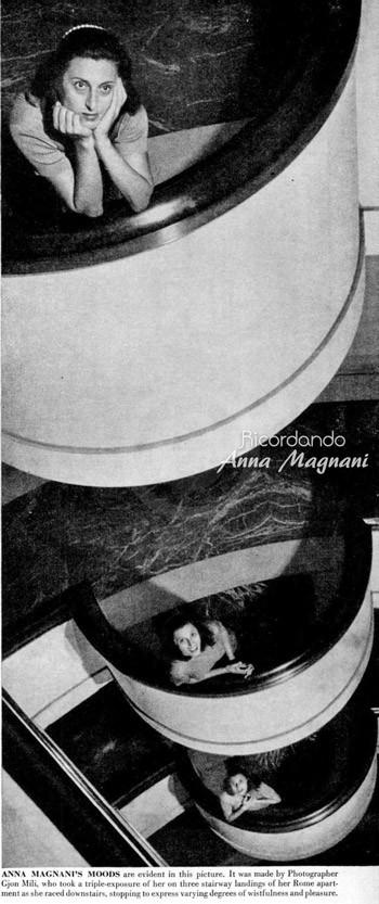 Anna Magnani LIFE by Gjon Mili