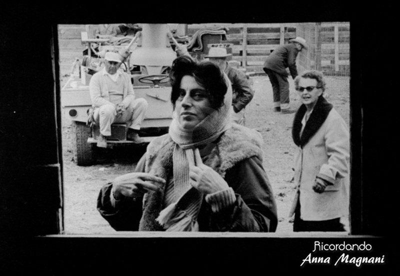 Anna Magnani Wild the Wind Set