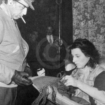 Goffredo Alessandrini e Anna Magnani