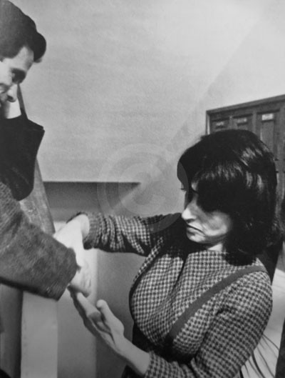 Pasolini e Anna Magnani