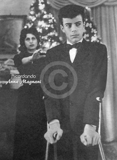 Anna Magnani e Luca Magnani Natale