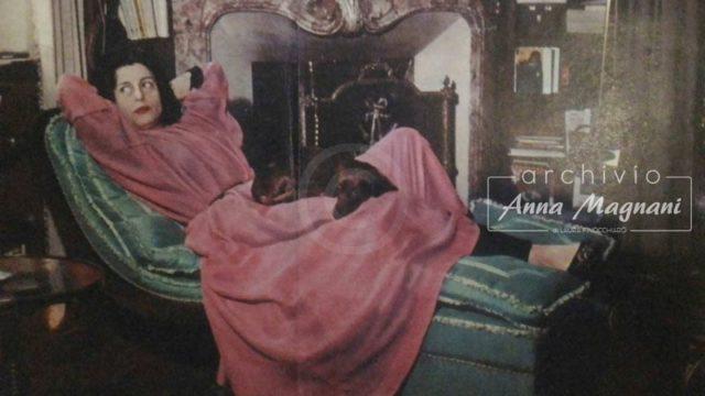Anna Magnani cavallo senza briglie