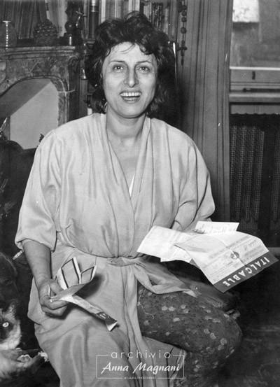 Anna Magnani Oscar Nannarella