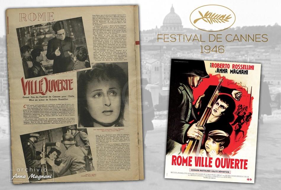 Roma città aperta Festival di Cannes