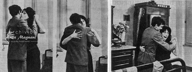 Anna Magnani e Ettore Garofalo
