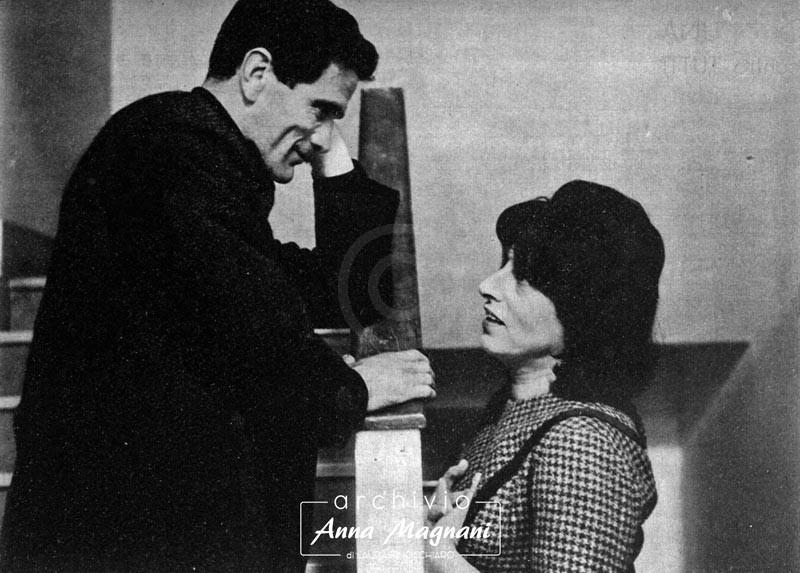 Pier Paolo Pasolini e Anna Magnani