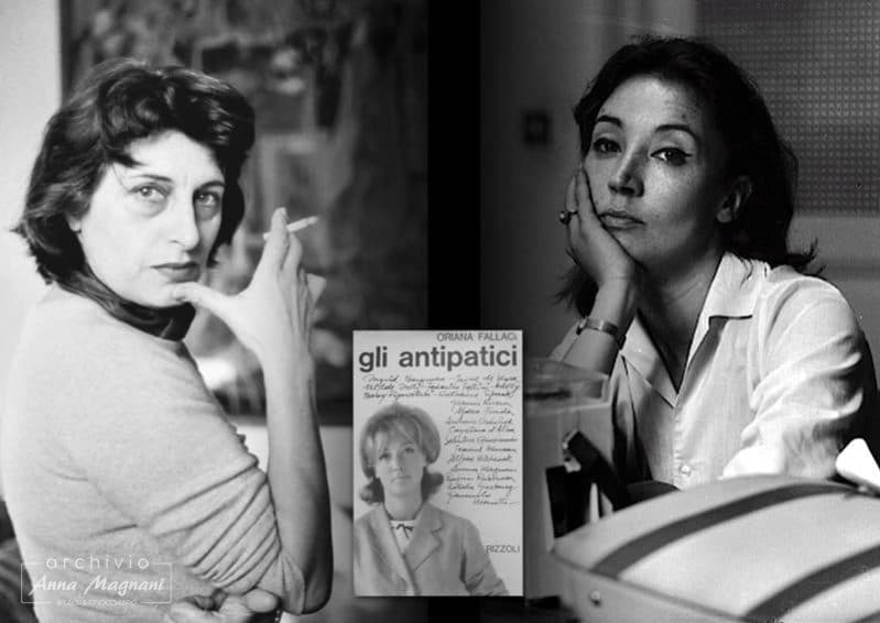 Mamma Tragica Gli Antipatici Oriana Fallaci Anna Magnani
