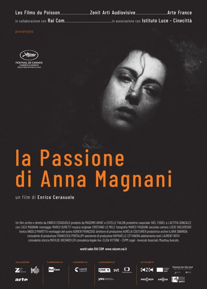 Locandina La passione di Anna Magnani Enrico Cerasuolo