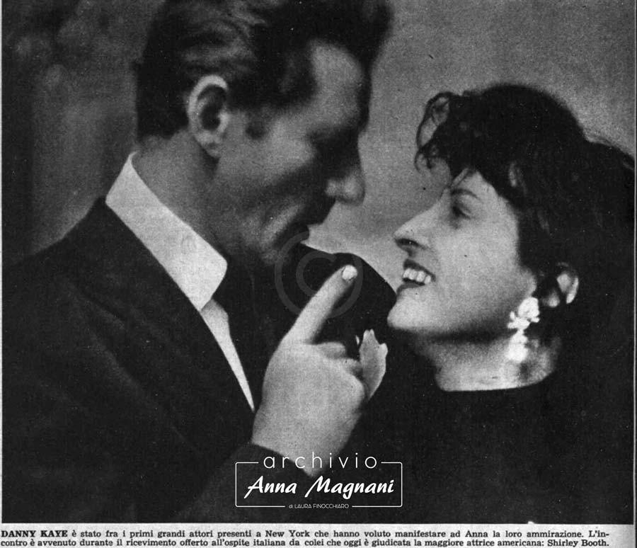 America, Anna Magnani e Danny Kaye