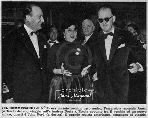 Anna Magnani Andrea Doria John Ford