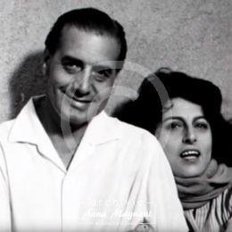 Renato Castellani e Anna Magnani
